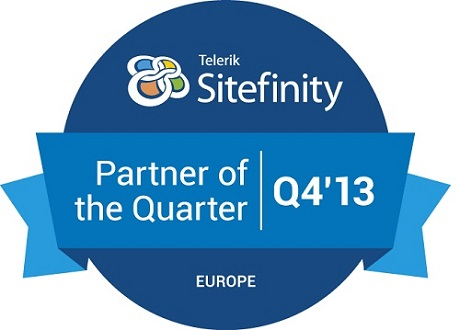 Sitefinity Partner of the Quarter - Europe