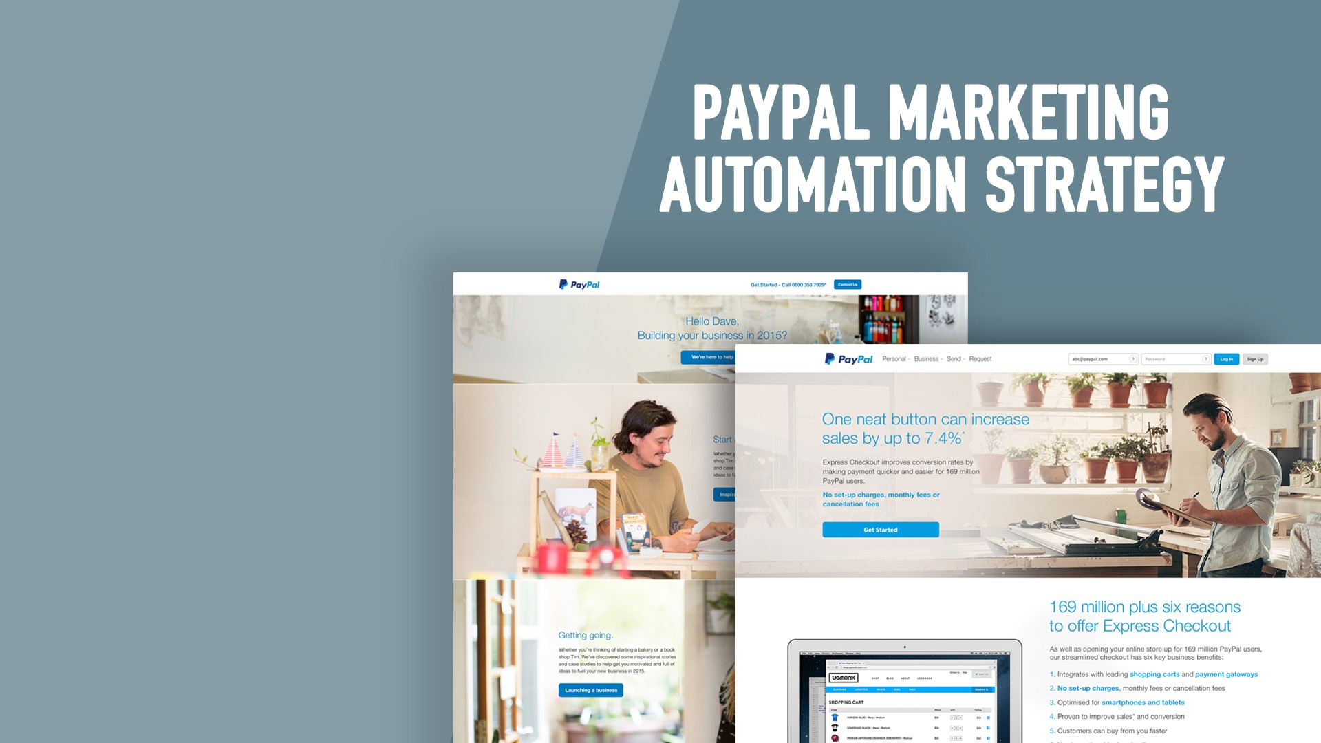 PayPal Marketing Automation Strategy