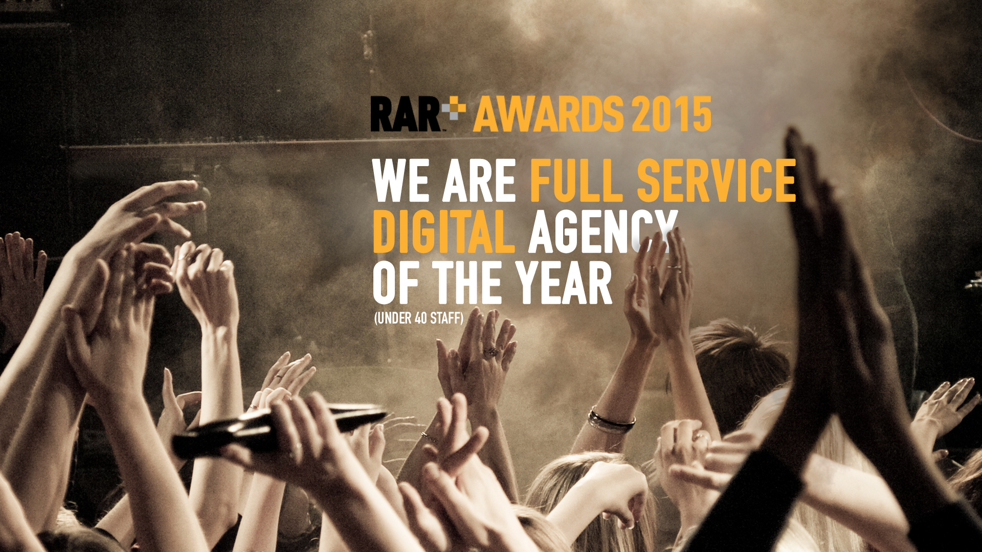 Clients & Peers vote Purestone Full Service Digital Agency of the Year